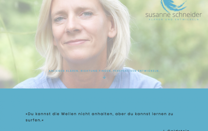 Startseite Susanne Schneider_Website-Relaunch_webcontentmanagement_silke johann_022020